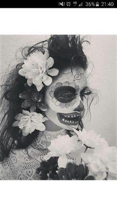 Catrina girlfriend halloween