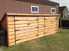 Waney Larch Timber Playground Storage Shed & 16 best Playground Storage Solutions images on Pinterest | Shed ...