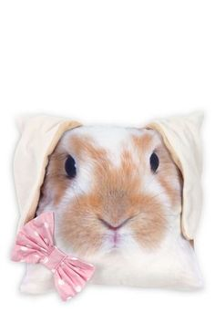 Buy Photographic Bunny Cushion from the Next UK online shop