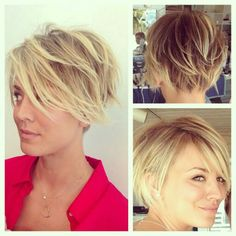 I LOVE this cut!! Longer pixie cut. Seriously thinking about it. I hope my thick wavy hair will cooperate! :-)