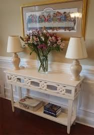 Love this table for front door