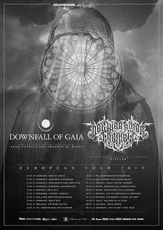 DOWNFALL OF GAIA teaming up for co-headline tour with DER WEG EINER FREIHEIT in March and April of 2015! - http://bit.ly/1whMsRL