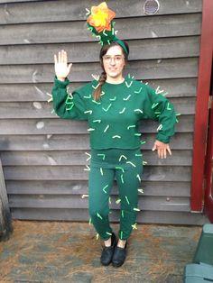 Cactus Halloween! #cactus #costume #diy #halloween