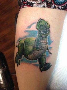 Rex Toy Story Tattoo