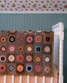 cocoa & colour granny squares