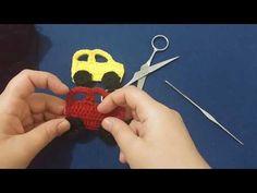 Crochet, Make It Yourself, Christmas Ornaments, Holiday Decor, Youtube, Amigurumi, Tricot, Handarbeit, Christmas Jewelry