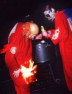 Clown: I told you not to light me on fire Sid! Sid: ...OH that's what you said, sorry.