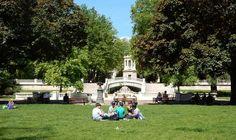 Picknickwiese in Dijon | Burgund, Frankreich