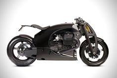 Carbon Fiber Moto Guzzi GT by Renard Motorcycles