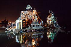 ramshackle rafts, lovely steampunk/arts happening.