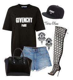 """""""Givenchy Fever"""" by terra-glam ❤ liked on Polyvore featuring Givenchy, Alexander Wang and Dsquared2"""