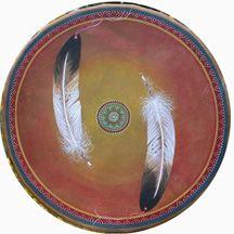 Sweet Medicine Drums - Hand-Painted Drums