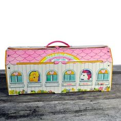 Vintage Toys toy vintage carrying case my little pony - 90s Toys, Retro Toys, Vintage Toys, Funny Vintage, Vintage My Little Pony, 1980s Childhood, My Childhood Memories, Toy Barn, 80s Kids