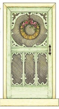 Mary Engelbreit screen door printable http://marjan.yourfreedomproject.com