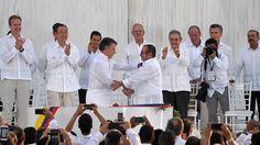 El proceso de paz de Colombia, favorito para el Nobel de la paz