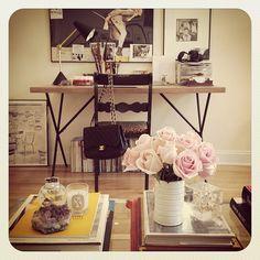 chair {Black & leopard print} Photo by katiearmour