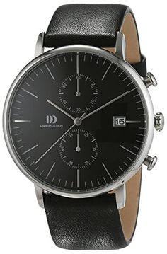 Danish Design Herren-Armbanduhr IQ13Q975 Analog Quarz Leder IQ13Q975 - http://uhr.haus/danish-design/danish-design-herren-armbanduhr-iq13q975-analog