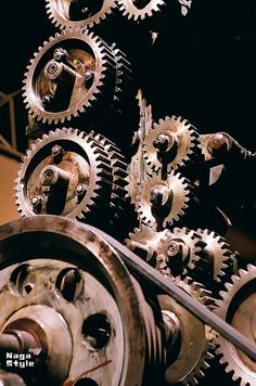 Toothed Wheels Mechanical Engineering Design, Mechanical Art, Gear Tattoo, Gear Wheels, Abandoned Factory, Industrial Machinery, Gear Art, Steampunk Design, Industrial Photography