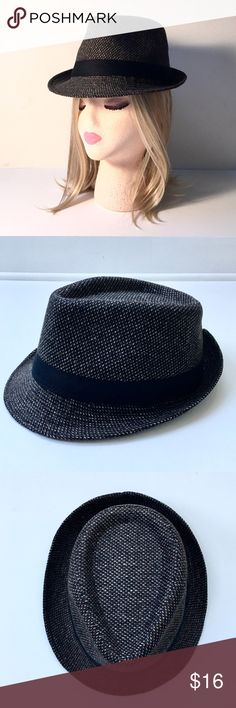 Tweed Weave Unisex Fedora with Grosgrain Trim❤ Details to come... ladies large/men's small none Accessories Hats