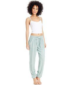 Rewash Juniors' Cinched Soft Pants - Juniors Leggings & Pants - Macy's