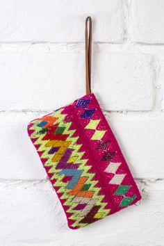 Handmade in the Peruvian Highlands  #oneofakind #colorful
