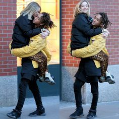 Jaden Smith spotted with girlfriend, Sarah Snyder in Alpha's Injector Flight Jacket. Jaden Smith, Will Smith, Jada Pinkett Smith, Cute Couples Goals, Couple Goals, Adorable Couples, Mens Flight Jacket, Beste Songs, Sarah Snyder