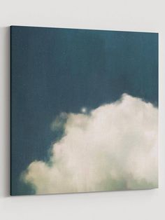Cloud Art, Cumulus, Grand Art Mural, Traditional Frames, Minimalist Painting, Floating Frame, Large Wall Art, Illusions, Modern Art