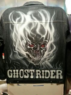 Ghost Rider Airbrush jacket