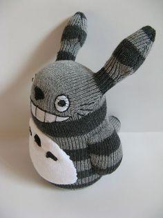 totoro from socks