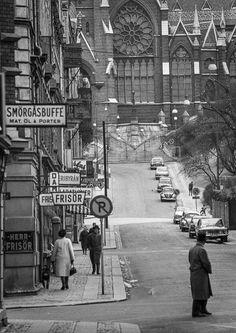 Gamla Göteborg Gothenburg Sweden, The Secret History, Black And White Pictures, Historical Fiction, Vintage Photographs, Stockholm, Evergreen, Old Photos, Street View