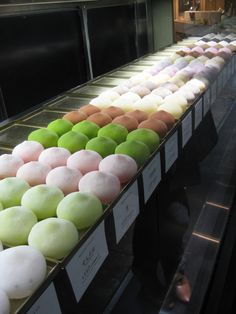 I want to try mochi (an aisan rice cake) so bad!!! They look delicious