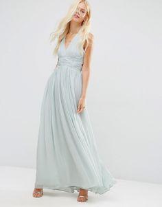 Image 4 ofASOS WEDDING Hollywood Maxi Dress $113