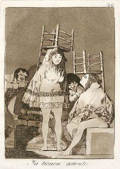 ~ by Francisco José de Goya Y Lucientes of Spain (1746-1828). http://www.davidsongalleries.com/artists/goya/goya.php