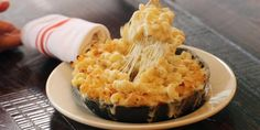 The Smith in NYC makes its mac and cheese with FOUR different kinds of cheese.