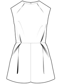adamneve jumpsuit - unfortunately I made this and the shorts are not quite right, very small in comparison to the top with a very short rise.