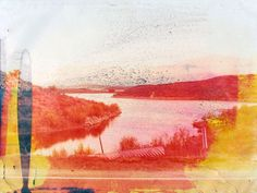 Matthew Brandt: Lakes and Reservoirs (each print is soaked in the specific lake or reservoir water that they represent)
