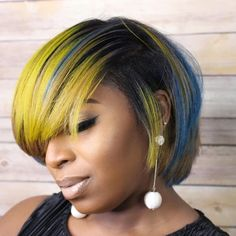 hair color for darkskinned woman Just Go, Let It Be, Cut And Color, Color Trends, Bob Hairstyles, Hair And Nails, Hair Color, Hair Styles, Beauty