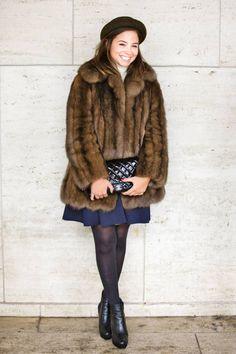 Serena Guen  Boots: Scoop   Hat: Topshop   Bag: Chanel   Everything Else: Vintage