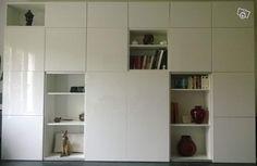 Son bureau dans le salon ikea hack living rooms and decoration