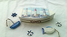 Hey, I found this really awesome Etsy listing at https://www.etsy.com/listing/236597392/boat-jewelry-box-earings-rings-storage