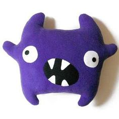 Huggable monster toy