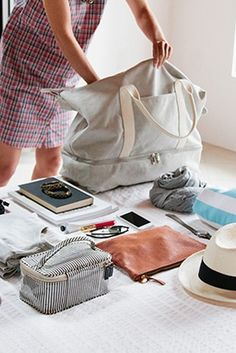 5 Tips for Not Over-Packing for a Long Weekend via OH how I truly NEED THIS mantra/rule HELP #overpacker @PureWow