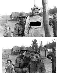 """""""2.Dünya Savaşında manüpile edilmiş bir fotoğraf,linkte ise birkaç örnek var http://t.co/W9g4fXx6fX"""""""