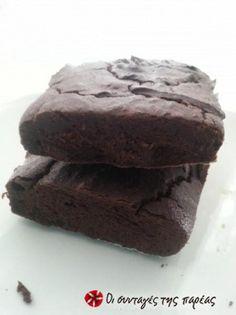Brownies με μαύρα φασόλια (χωρίς αλεύρι) Brownies, Recipies, Greek, Desserts, Food, Cake Brownies, Recipes, Tailgate Desserts, Deserts