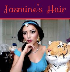 Jasmine's Hair | 26 DIY Hairstyles Fit For A Princess
