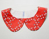peterpan collar - little birds - creative thursday