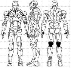 iron man suit blueprints - Google Search