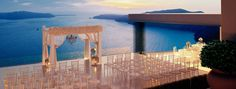 Sunset View Terrace Santorini | Overseas Weddings by The Bridal ConsultantThe Bridal Consultant