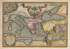 Old Maps, Antique Maps, Vintage World Maps, All World Map, Homer Odyssey, Map Globe, Atlas, Treasure Maps, Orient