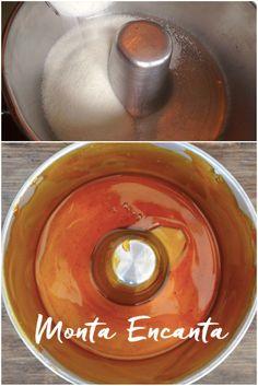 Calda de Caramelo Método Úmido. Fazer uma calda de caramelo é levar o açúcar ao calor e ver ele se transformar em uma calda dourada de…